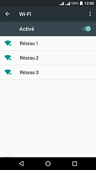 Acer Liquid Zest 4G Plus - Wifi - configuration manuelle - Étape 5