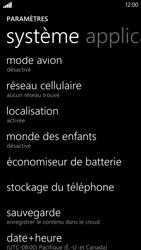 HTC Windows Phone 8X - Internet et roaming de données - Désactivation du roaming de données - Étape 4