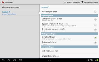 Samsung P5100 Galaxy Tab 2 10-1 - E-mail - Instellingen KPNMail controleren - Stap 20