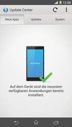 Sony Xperia Z1 - Software - Installieren von Software-Updates - Schritt 7