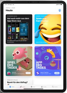 Apple iPad mini (2019) - iPadOS 13 - Apps - Installieren von Apps - Schritt 5