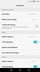 Huawei Y6 II - voicemail - handmatig instellen - stap 5