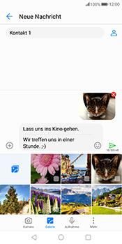 Huawei Mate 10 Pro - MMS - Erstellen und senden - 19 / 21