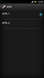 Sony Xperia J - Internet e roaming dati - Configurazione manuale - Fase 16