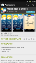 Sony Xperia S - Applications - Installation d