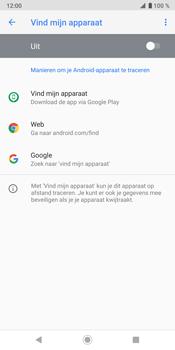 Sony Xperia XZ3 - Toestel - Stel Zoek mijn mobiel in - Stap 7