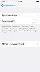Apple iPhone SE - Internet und Datenroaming - Deaktivieren von Datenroaming - Schritt 6