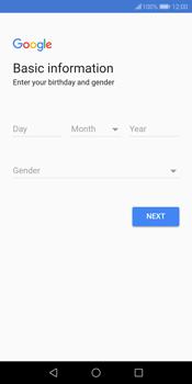 Huawei P Smart - Applications - Create an account - Step 6