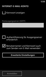 Nokia Lumia 920 LTE - E-Mail - Konto einrichten - Schritt 13