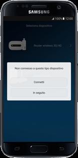 Huawei E5770 - Operazioni iniziali - Come connettere il modem allo smartphone o al tablet - Fase 7