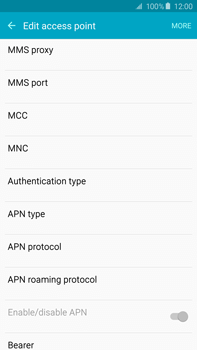 Samsung N920 Galaxy Note 5 - MMS - Manual configuration - Step 9