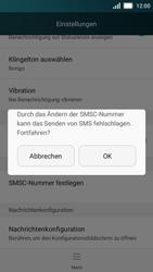 Huawei Y5 - SMS - Manuelle Konfiguration - Schritt 8
