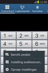 Samsung S6310 Galaxy Young - Voicemail - handmatig instellen - Stap 6