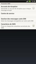 HTC S720e One X - Messagerie vocale - configuration manuelle - Étape 9