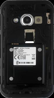 Samsung Galaxy Xcover 3 VE - SIM-Karte - Einlegen - 4 / 8