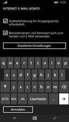 Microsoft Lumia 640 - E-Mail - Konto einrichten - 1 / 1