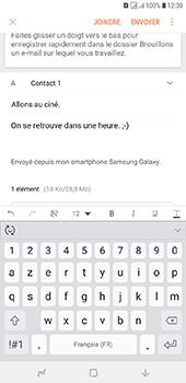 Samsung Galaxy J6 Plus - E-mails - Envoyer un e-mail - Étape 19