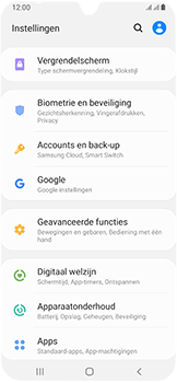 Samsung Galaxy A40 - Data - Maak een back-up met je account - Stap 4