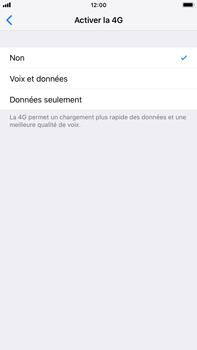 Apple iPhone 7 Plus - iOS 12 - Réseau - Activer 4G/LTE - Étape 6