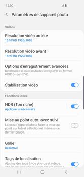 Samsung Galaxy S10 Plus - Photos, vidéos, musique - Créer une vidéo - Étape 8