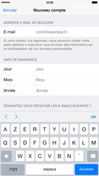 Apple iPhone 6 Plus - Applications - Créer un compte - Étape 15