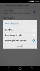 Sony Xperia Z2 - Internet e roaming dati - Disattivazione del roaming dati - Fase 7