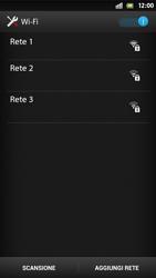 Sony Xperia S - WiFi - Configurazione WiFi - Fase 6