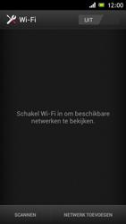 Sony ST26i Xperia J - wifi - handmatig instellen - stap 5