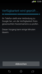 Sony Xperia V - Apps - Einrichten des App Stores - Schritt 10