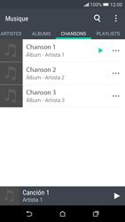 HTC Desire 626 - Photos, vidéos, musique - Ecouter de la musique - Étape 6