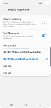 Samsung Galaxy S10e - Netzwerk - So aktivieren Sie eine 4G-Verbindung - Schritt 7