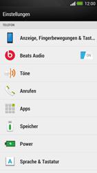 HTC One - Anrufe - Rufumleitungen setzen und löschen - 4 / 9