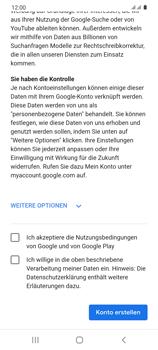 Samsung Galaxy S20 5G - Apps - Einrichten des App Stores - Schritt 16