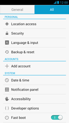 Huawei Ascend G526 - Mobile phone - Resetting to factory settings - Step 4