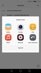 Huawei P9 - E-mail - Sending emails - Step 11