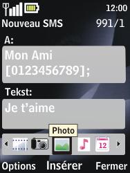 Nokia 2730 classic - MMS - envoi d'images - Étape 10