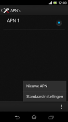 Sony C1905 Xperia M - Internet - handmatig instellen - Stap 12