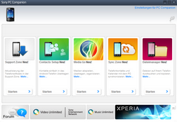 Sony Xperia Sola - Software - Sicherungskopie Ihrer Daten erstellen - Schritt 4