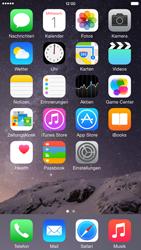Apple iPhone 6 Plus - iOS 8 - Apps - Konfigurieren des Apple iCloud-Dienstes - Schritt 1