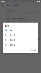Nokia 8 - Android Pie - Rete - Selezione manuale della rete - Fase 10