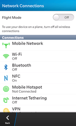 BlackBerry Z10 - WiFi - WiFi configuration - Step 5