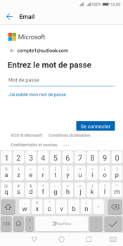 Huawei Y7 (2018) - E-mail - 032c. Email wizard - Outlook - Étape 6