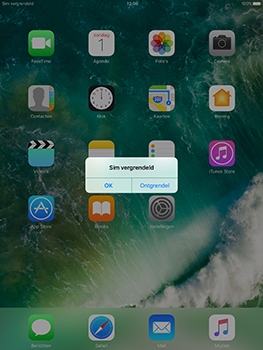 Apple iPad 9.7 (Model A1823) - Internet - Handmatig instellen - Stap 15