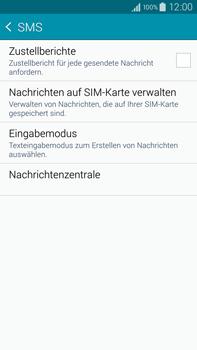 Samsung Galaxy Note 4 - SMS - Manuelle Konfiguration - 0 / 0