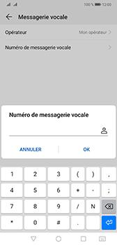 Huawei Mate 20 - Messagerie vocale - configuration manuelle - Étape 9