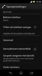 Sony C1905 Xperia M - Voicemail - Handmatig instellen - Stap 5