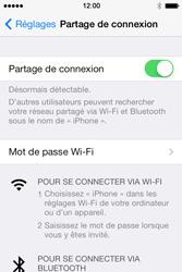 Apple iPhone 4S - Internet et connexion - Partager votre connexion en Wi-Fi - Étape 8