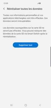 Samsung Galaxy S10 Plus - Téléphone mobile - Réinitialisation de la configuration d