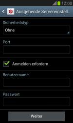 Samsung I8190 Galaxy S3 Mini - E-Mail - Konto einrichten - Schritt 12