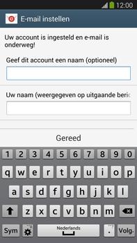 Samsung N9005 Galaxy Note III LTE - E-mail - Account instellen (POP3 zonder SMTP-verificatie) - Stap 18